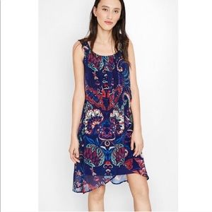 Desigual | Valkiria Lorna Multicolor Dress Large